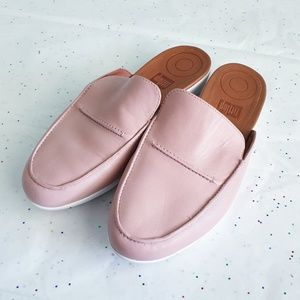 FITFLOP Serene Mules Light Pink size 7